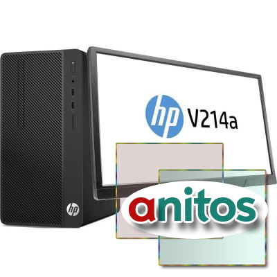 Системный блок HP Bundle 290 G1 MT(2MT24ES) Core i3-710/,4GB/500GB/W10Pro