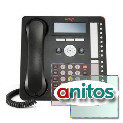 Телефон IP Avaya IP PHONE 1616-I BLK (700458540, 700504843)