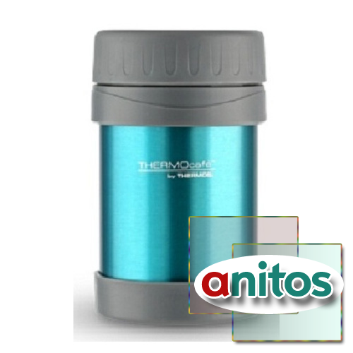 ТЕРМОС ДЛЯ ЕДЫ THERMOS JNL-500 SPORTS FOOD FLASK БИРЮЗОВЫЙ - (0,5 ЛИТРА)