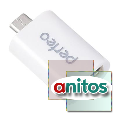 usb-адаптер Perfeo USB adapter with OTG (PF-VI-O002)