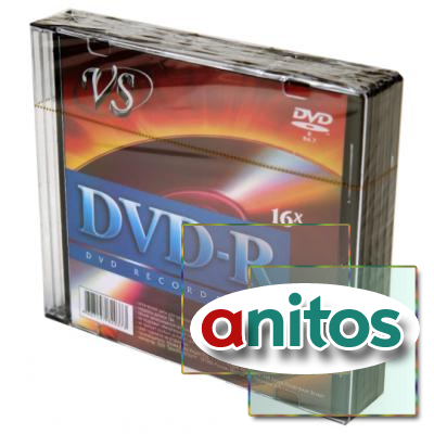 Компакт диск DVD записываемый VS DVD-R 4.7 GB 16x SL/5