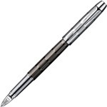 Parker IM Premium - Twin Chiselled CT, ручка 5th пишущий узел, F, BL