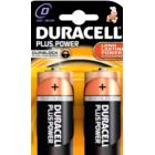 батарейка Duracell LR20/2BL Plus Power MN1300
