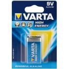 Батарейка Крона VARTA 6LR61/1BL HIGH ENERGY 4922