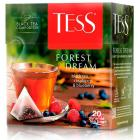 Чай TESS FOREST DREAM черный пирамидки 20шт