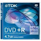 диск TDK DVD+R 4,7 GB 16x JC/5
