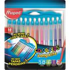 Фломастеры MAPED COLOR'PEPS LONG LIFE 12 шт. 845045