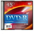 Носители информации VS DVD-R 4,7GB 16x SL/5