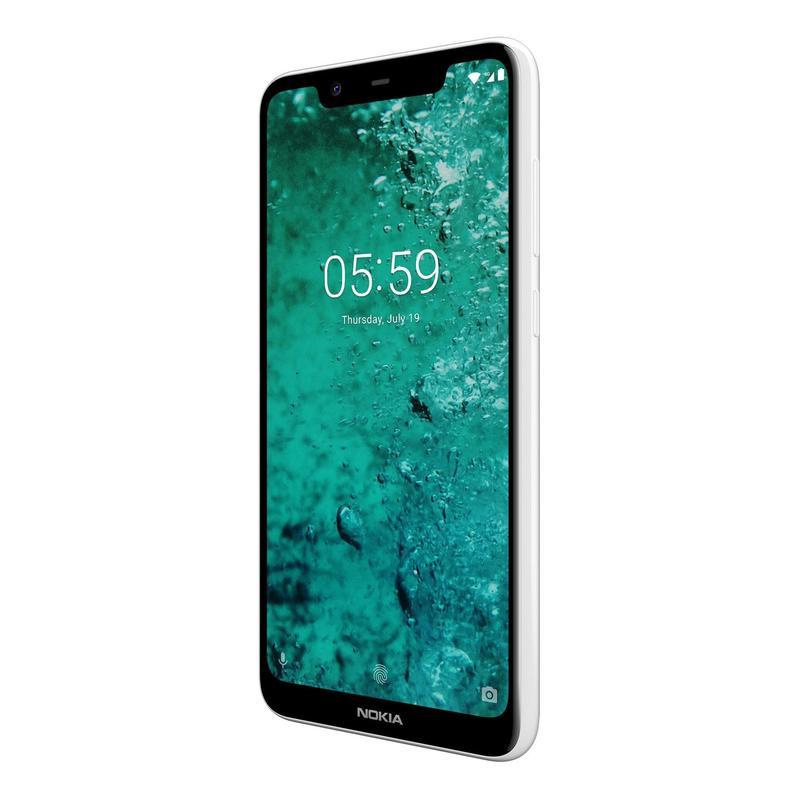 Смартфон NOKIA 5.1 PLUS DS TA-1105 WHITE/3GB/32GB11PDAW01A01