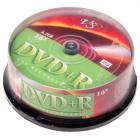 Компакт диск DVD записываемый VS DVD+R 4.7 GB 16x CB/25